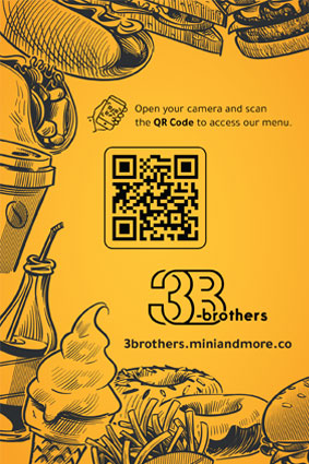 Three Brothers QR Menu