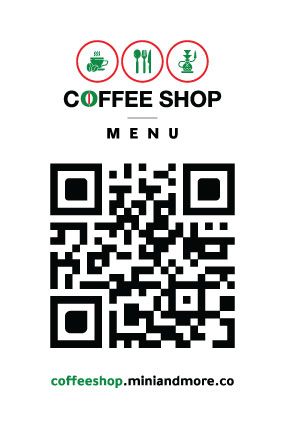 Coffee Shop QR Menu