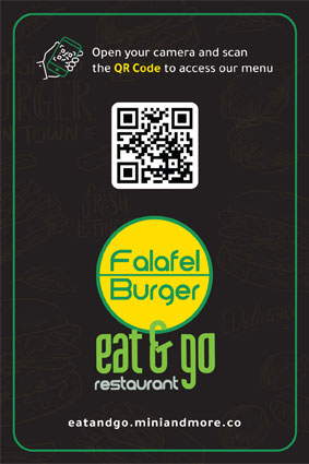 Eat & Go Cafe QR Menu
