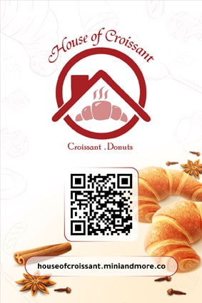 House Of Croissant QR Menu